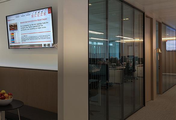 Modern Offices Wall-Mounted Technology Examples - ATDEC